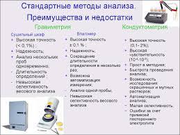 Курсовая работа на тему Пьезокварцевое микровзвешивание солей в   Курсовая работа на тему Стандартные методы анализа