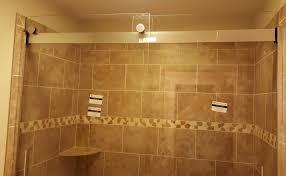 clever shower glass door installation installation kohler levity sliding shower door h in glass