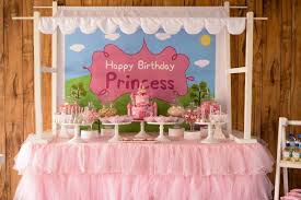 Princess Ball Decorations Enchanting Kara's Party Ideas Peppa Pig Princess Birthday Party