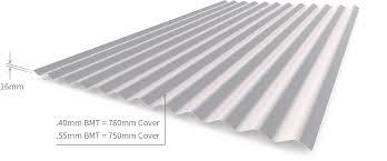 corrugated cgi cladding profile