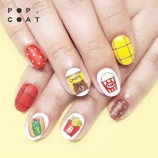 Fast Food Nail Designs Nail Art Fast Food Nails Nail Art Natural Nails