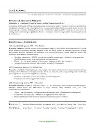 Complex Real Estate Executive Assistant Resume Real Estate Agent
