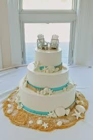 Beach Wedding Cakes Pictures