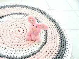 baby pink rug for nursery