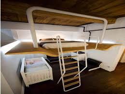 Floating Loft Bed Loft Bed Frame Student Loft Bed Frame With Desk For Kids Teens