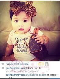Guendalina Tavassi su instagram pubblica nuove foto della figlia Chloè con  il marito Umberto « Il Vicolo delle News