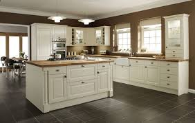 Cream Kitchen cream kitchen cabinets with black appliances 2328 by xevi.us