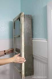 diy bathroom cabinet vintage