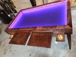 Led Coffee Table Diy Gaming Tables Step By Step Instructables All Tables Mentioned