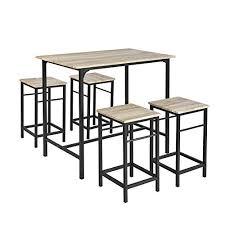Table De Bar Avec Tabouret Amazonfr