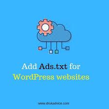 ads txt for wordpress s
