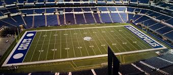 Indianapolis Colts Seating Chart Lucas Oil Stadium Seating Chart Map Seatgeek