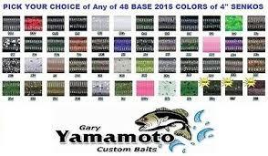 Yamamoto Senko 4 Inch 9s 10 Stick Bait Soft Plastic Worms