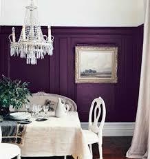 violet silver dining room