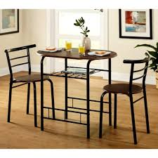 Amazoncom Tall Round Bistro Table Set 3 Piece Black Espresso
