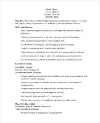 19 Free Librarian Resume Samples Sample Resumes