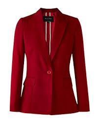 Massimo Dutti Womens Slim Fit Wool Flannel Blazer 6038 538