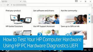 HP PCs - Testing for Hardware Failures | HP® Customer Support