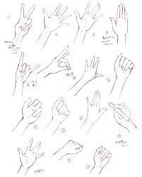 お絵描き練習に使ってね手の画像素材 Aiminote