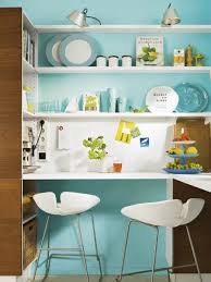 Kitchen Wall Shelving Kitchen Room Teal Kitchen With Retro Decor Idea And Stunning