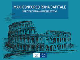 Preselezione concorso Comune di Roma per 1512 posti