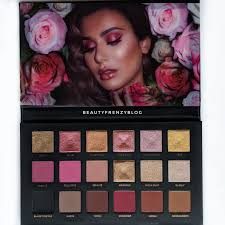 huda beauty rose gold remastered palette review swatches on dark skin