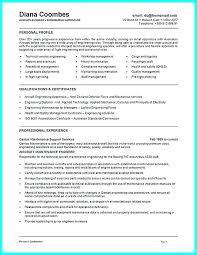 Mechanic Resume Cover Letter Samples Maintenance Technician Sample