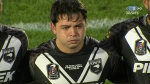 Kiwis v Kangaroos: Incredible scenes as emotional Brandon Smith cries  during national anthem | Sporting News Australia