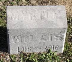 Myrtle Willis (1916-1916) - Find A Grave Memorial