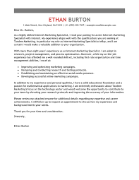 Online Job Cover Letter Best Online Marketer And Social Media Cover Letter Examples