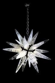 rock crystal chandelier charles spada