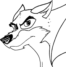 Balto Aliya Wolf Coloring Page Coloring For Kids 2019