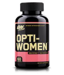 optimum nutrition on opti women