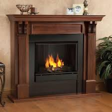 Real Flame Ashley 48 in. Gel Fuel Fireplace in Mahogany-7100-M ...
