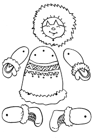 eskimo puppet craft | Crafts and Worksheets for Preschool,Toddler ...