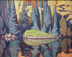 sand lake algoma 1922 32x40 inches oil by lawren harris