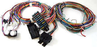 premier street rod car or truck parts r1002 20 circuit wire 20 circuit wire harness kit universal main image