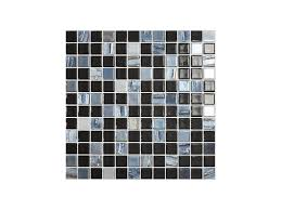 <b>Мозаика стеклянная VIDREPUR</b> Astro черный 31,7х31,7 см ...