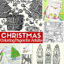 Christmas Coloring Paper Free Printable Christmas Coloring Pages For Adults Easy Peasy And Fun