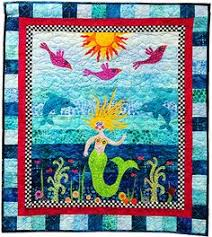 Square 6: The Elegant Mermaid | Quilting ideas, Quilt blocks and ... & mermaid quilt [patterns | Roxanne's A Wish and a Dream Adamdwight.com