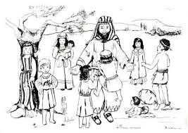Jezus Zegent De Kinderen Kleurplaat Bestelnr 124ak