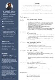 Sample Travel Management Resume Csr Resume Samples And Templates Visualcv