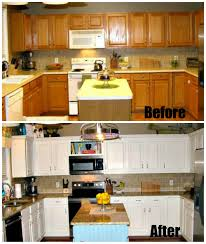 Budget For Kitchen Remodel Do It Yourself Diy Kitchen Remodel On A Budget Home Georgian