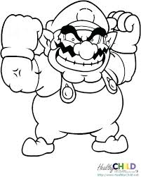 Free Printable Mario Coloring Pages Uticureinfo