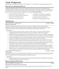 Obiee Administrator Resume Linux System Administrator Resume For Fresherle Junior Stupendous 9
