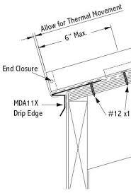 installing drip edge details