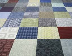 with attached felt pad small orted carpet tiles