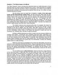 the ethical issues in the movie blood diamond essay zoom zoom
