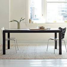 parsons expandable dining table west elm the surprising photo segment types room chairs that