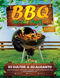 Summer Party Flyers Bbq Summer Party Flyer Design Template In Psd Word Publisher